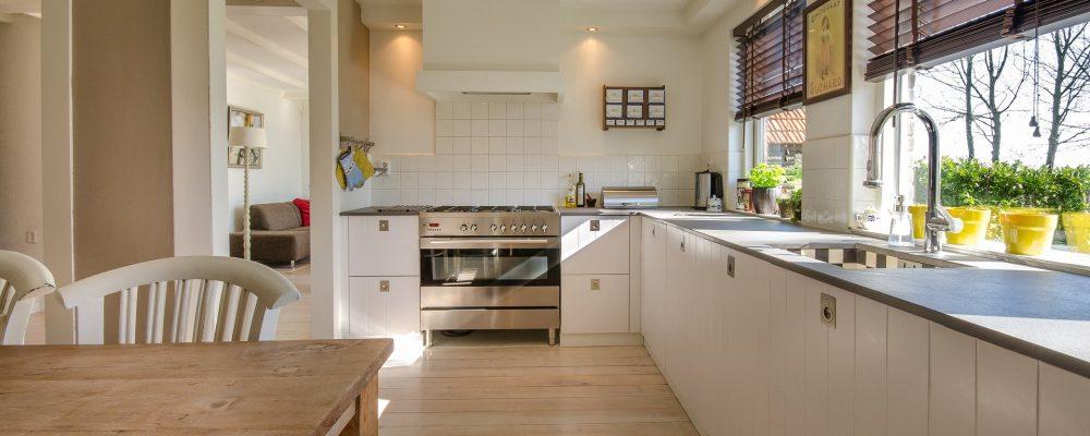 perfect clean kitchen